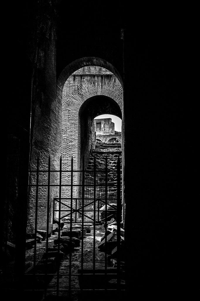 Catacombs - Rome, Italy